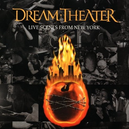 DREAM THEATER - Live Scenes From New York cover