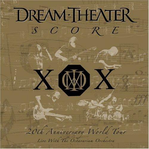 DREAM THEATER - Score: 20th Anniversary World Tour cover
