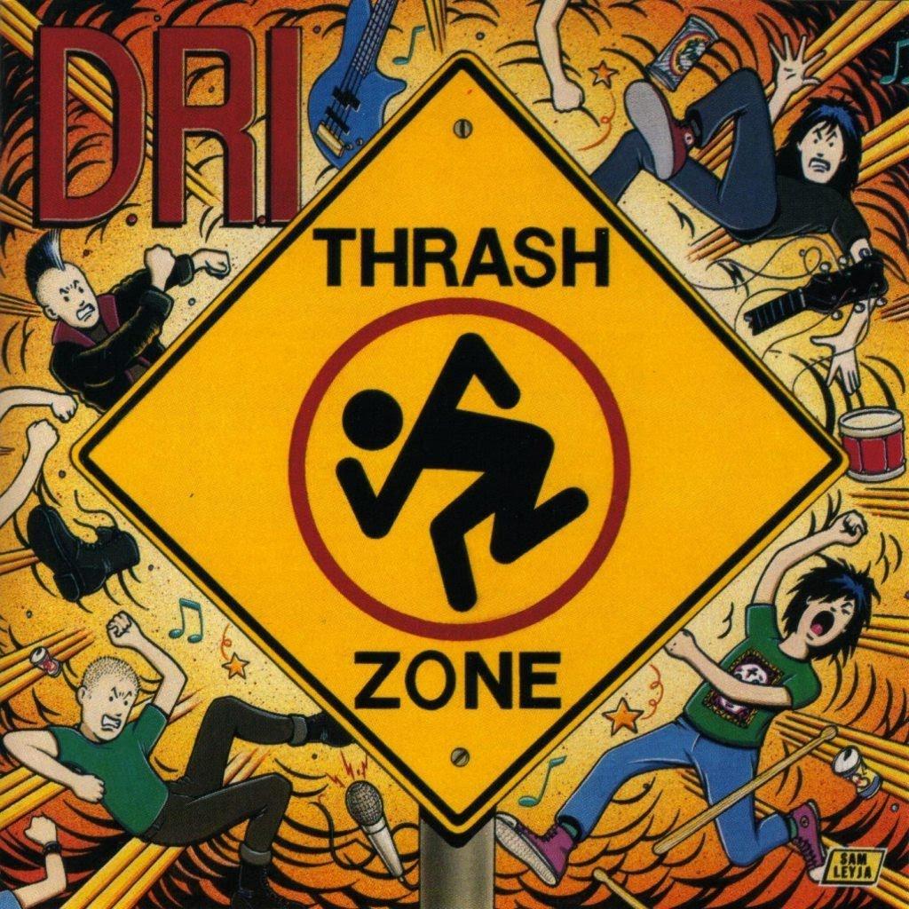 D.R.I. - Thrash Zone cover