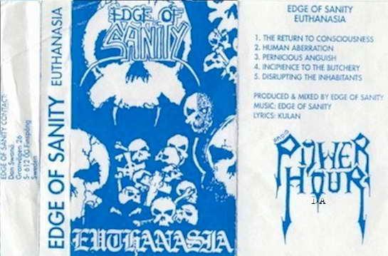 EDGE OF SANITY - Euthanasia cover