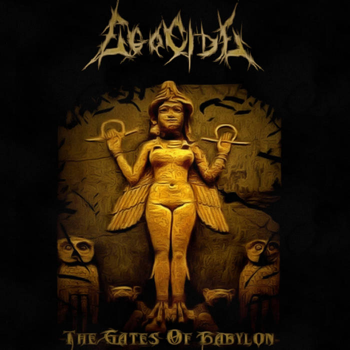 EGOCIDE - The Gates Of Babylon cover