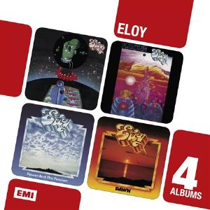 ELOY - Inside / Floating / Power and the Passion / Dawn cover