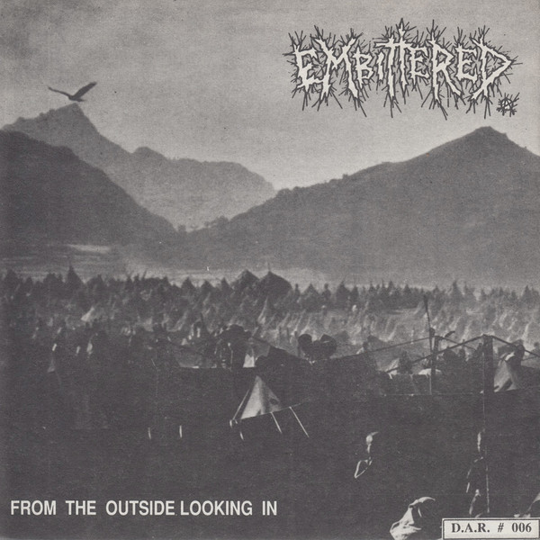EMBITTERED - Blind Justice For All / From The Outside Looking In cover