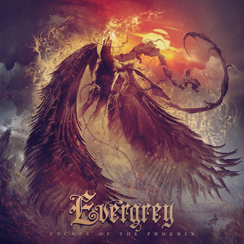 EVERGREY - Escape of the Phoenix cover