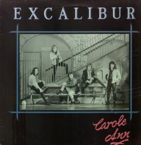 EXCALIBUR - Carol Ann cover