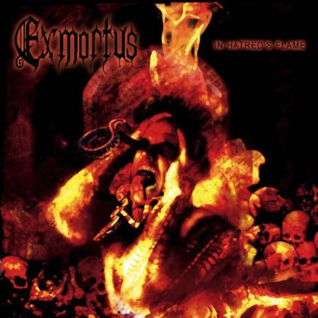 EXMORTUS - In Hatred's Flame cover
