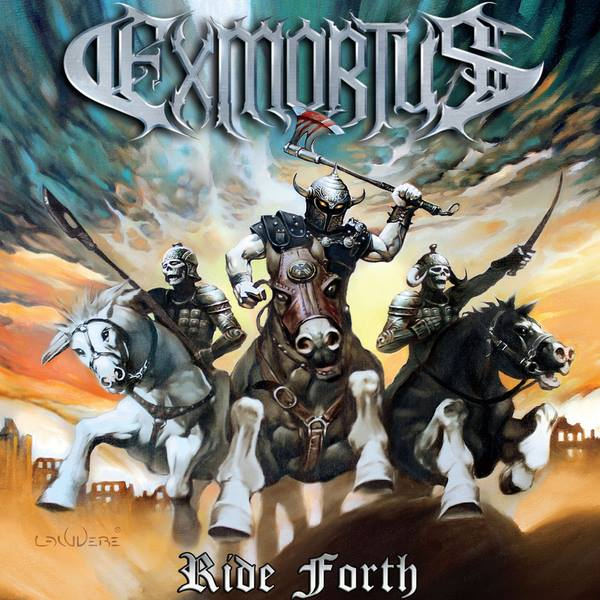 EXMORTUS - Ride Forth cover