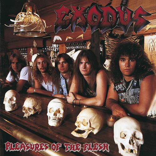 EXODUS - Pleasures of the Flesh cover