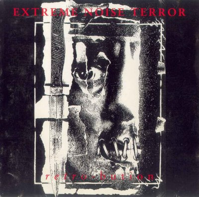 EXTREME NOISE TERROR - Retro-Bution cover