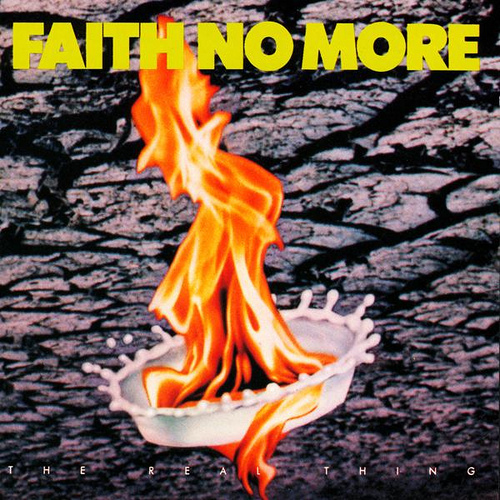 FAITH NO MORE - The Real Thing cover