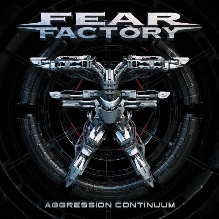 FEAR FACTORY - Aggression Continuum cover