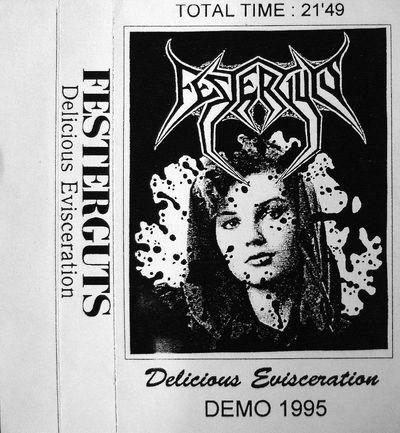 FESTERGUTS - Delicious Evisceration cover