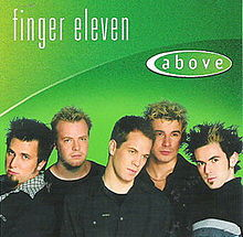 FINGER ELEVEN - Above cover