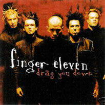 FINGER ELEVEN - Drag You Down cover