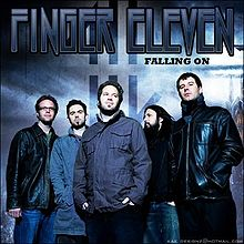 FINGER ELEVEN - Falling On cover