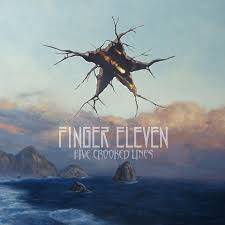 FINGER ELEVEN - Five Crooked Lines cover