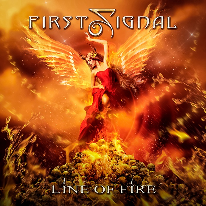 FIRST SIGNAL - Line of Fire cover