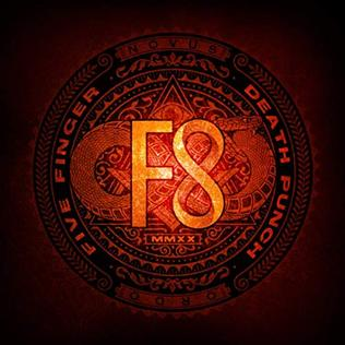 FIVE FINGER DEATH PUNCH - F8 cover