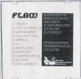 FLAW - Flaw cover