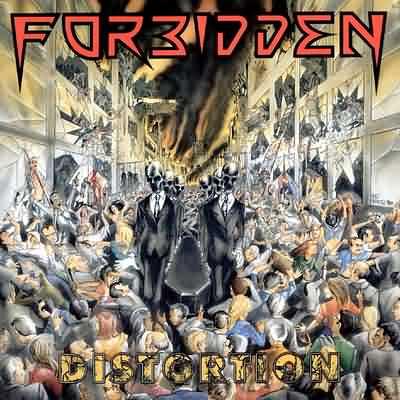 FORBIDDEN - Distortion cover