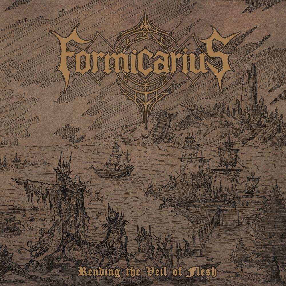 FORMICARIUS - Rending The Veil Of Flesh cover