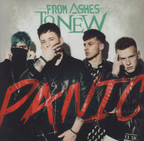 FROM ASHES TO NEW - Panic cover