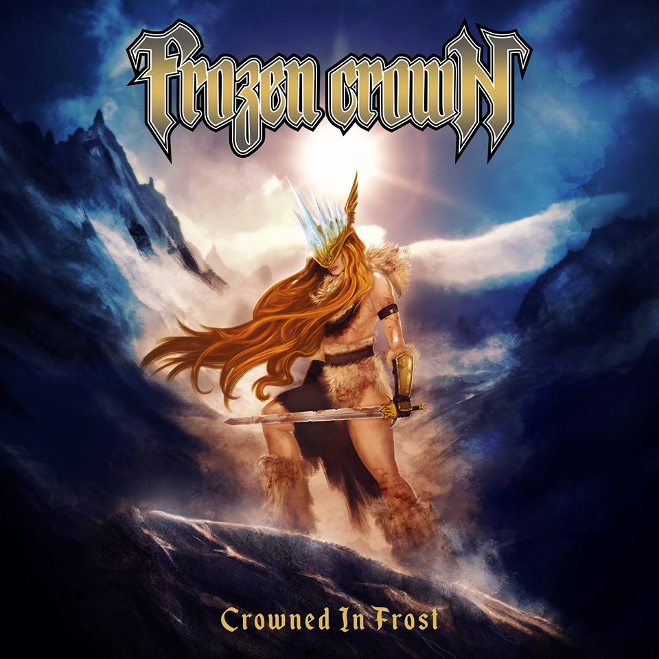 FROZEN CROWN - Crowned in Frost cover