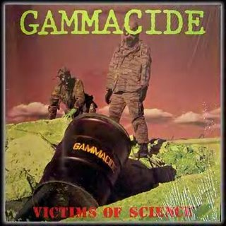 GAMMACIDE - Victims of Science cover