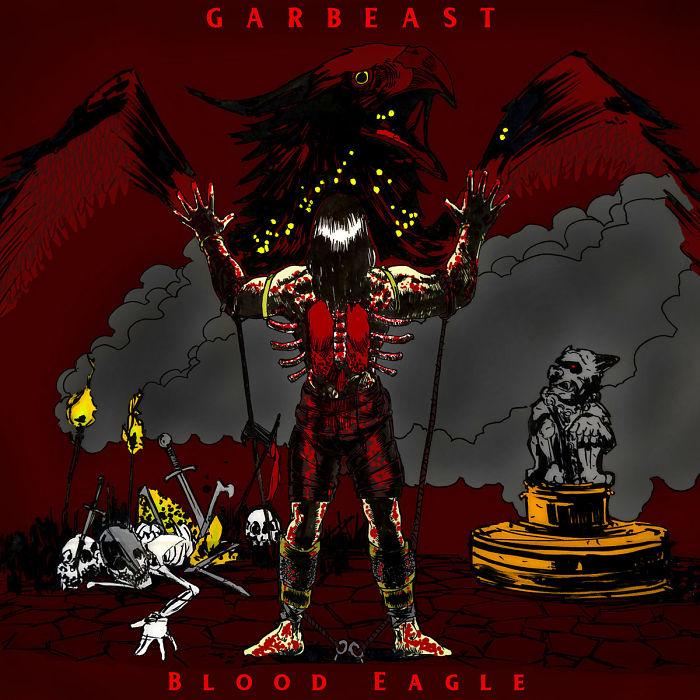 GARBEAST - Blood Eagle cover