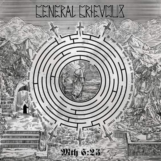 GENERAL GRIEVOUS - Mth 6:23 cover