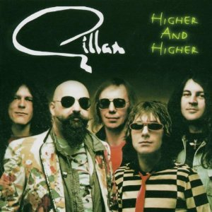 GILLAN - Higher and Higher cover