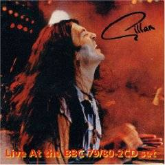 GILLAN - Live at the BBC 79 / 80 cover