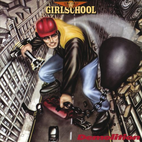 GIRLSCHOOL - Demolition cover