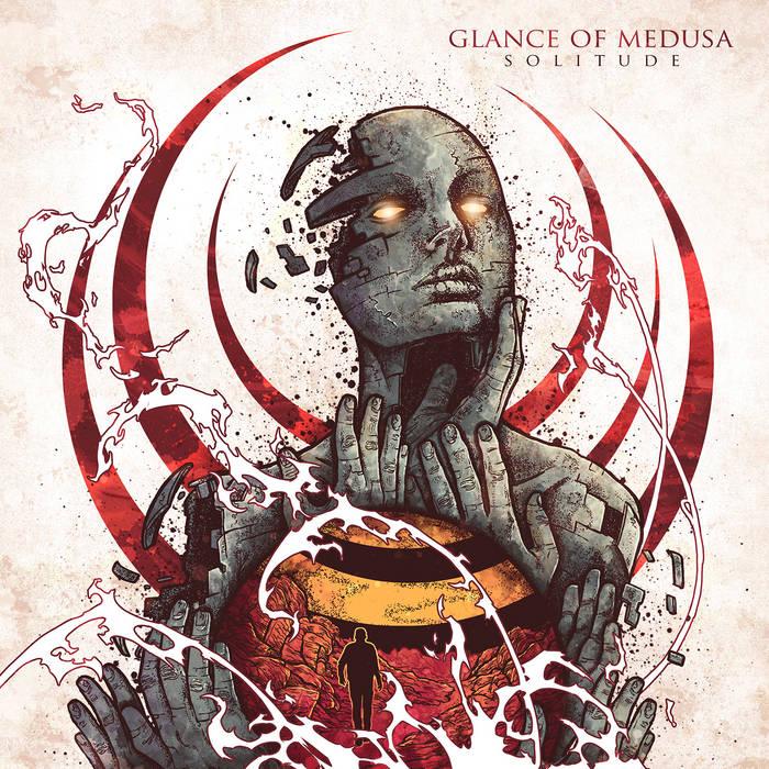 GLANCE OF MEDUSA - Solitude cover