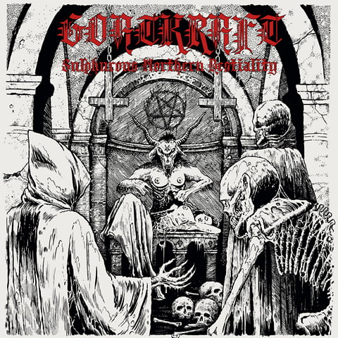 GOATKRAFT - Sulphurous Northern Beastiality cover
