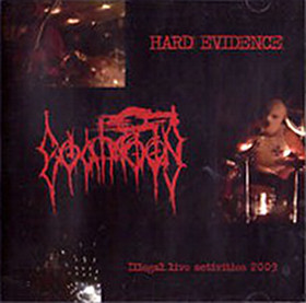 GOATMOON - Hard Evidence - Illegal Live Activities cover