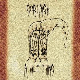 GORTAIGH - A Vile Thing cover