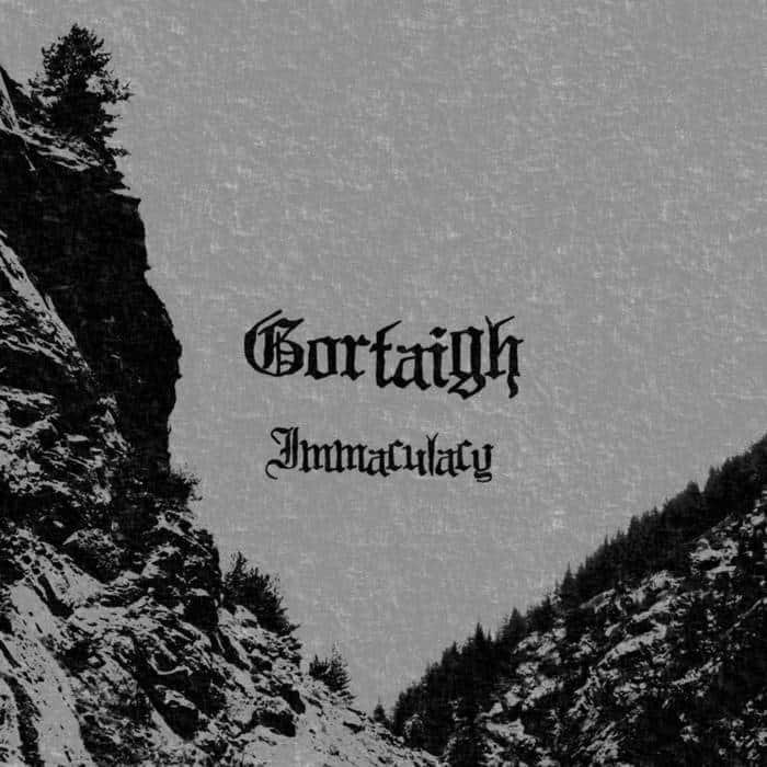 GORTAIGH - Immaculacy cover