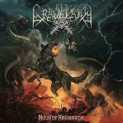 GRAVELAND - Hour of Ragnarok cover