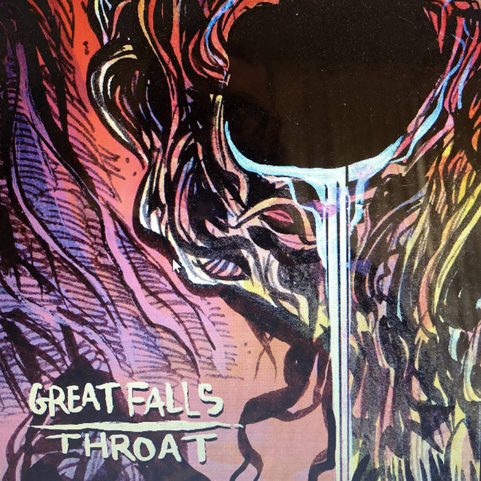 GREAT FALLS - Great Falls / Throat cover