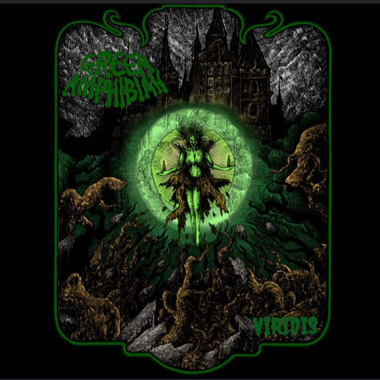 GREEN AMPHIBIAN - Viridis cover