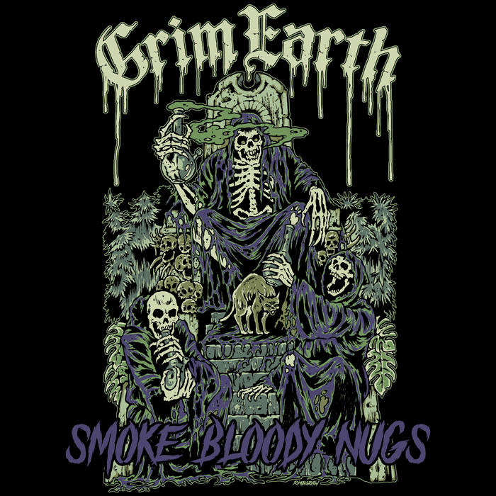 GRIM EARTH - Smoke Bloody Nugs cover