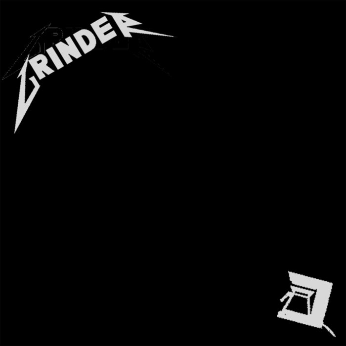 GRINDER - The Black EP cover