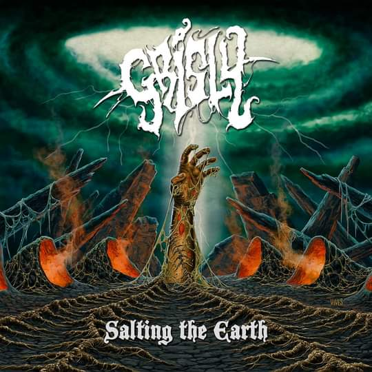 GRISLY - Salting the Earth cover