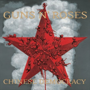 GUNS N' ROSES - Chinese Democracy cover