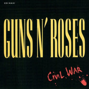 GUNS N' ROSES - Civil War cover