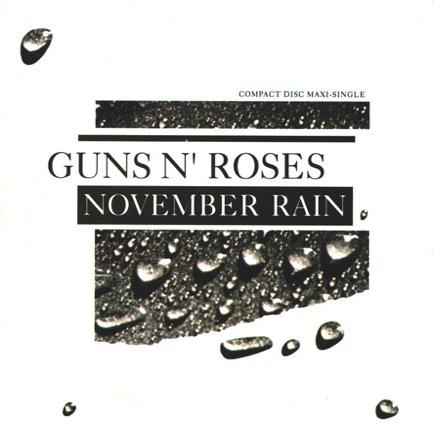 GUNS N' ROSES - November Rain cover