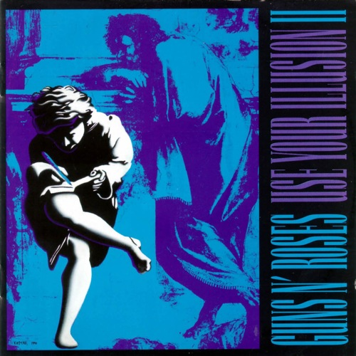GUNS N' ROSES - Use Your Illusion II cover