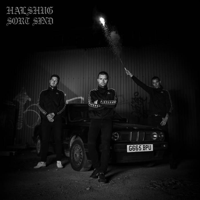 HALSHUG - Sort Sind cover