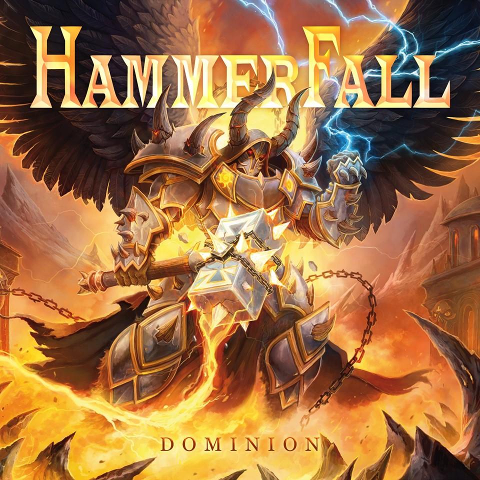 HAMMERFALL - Dominion cover